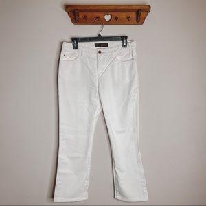 Louis Vuitton   White Jeans